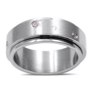 Jewelry - Stainless steel spinner ring